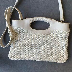 Anthropologie clutch/ cross body bag
